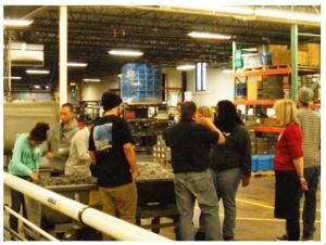 Minneapolis Students Tour Permac Industries