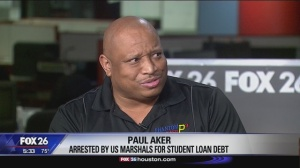 Arrested over unpaid student loans!